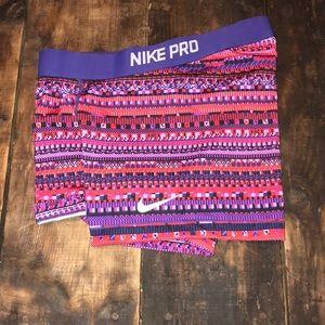 Nike Pro Spandex Tribal Print